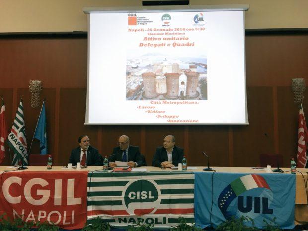 Crisi istituzionale: Cgil Cisl Uil Napoli a fianco di Mattarella