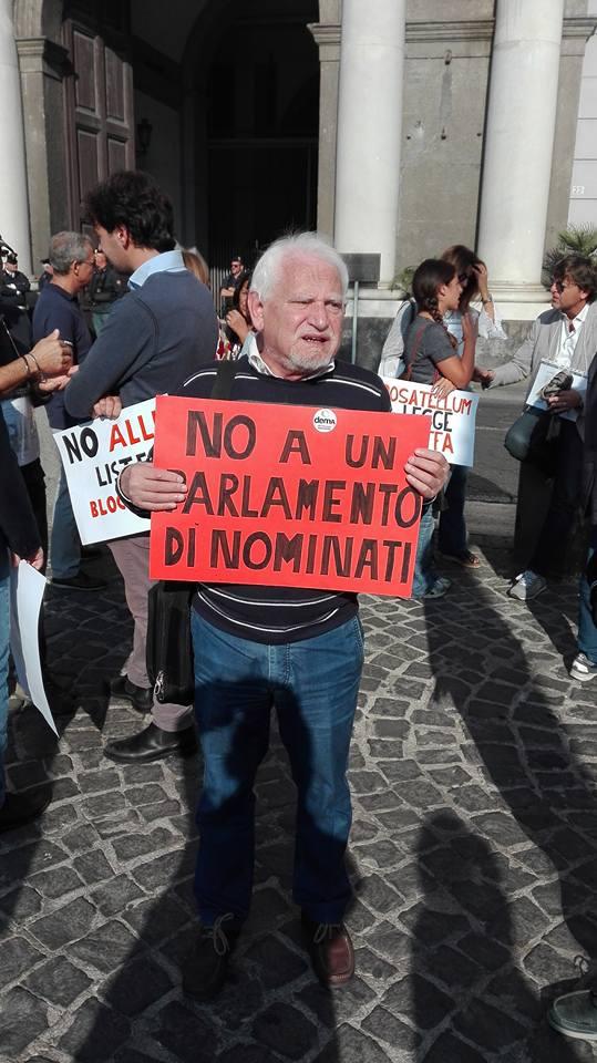 Napoli, la lettera aperta dello storico Geppino Aragno a Paolo Siani