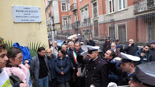 In ricordo di un giovane eroe, da oggi a Napoli c'è Largo Maurizio Estate