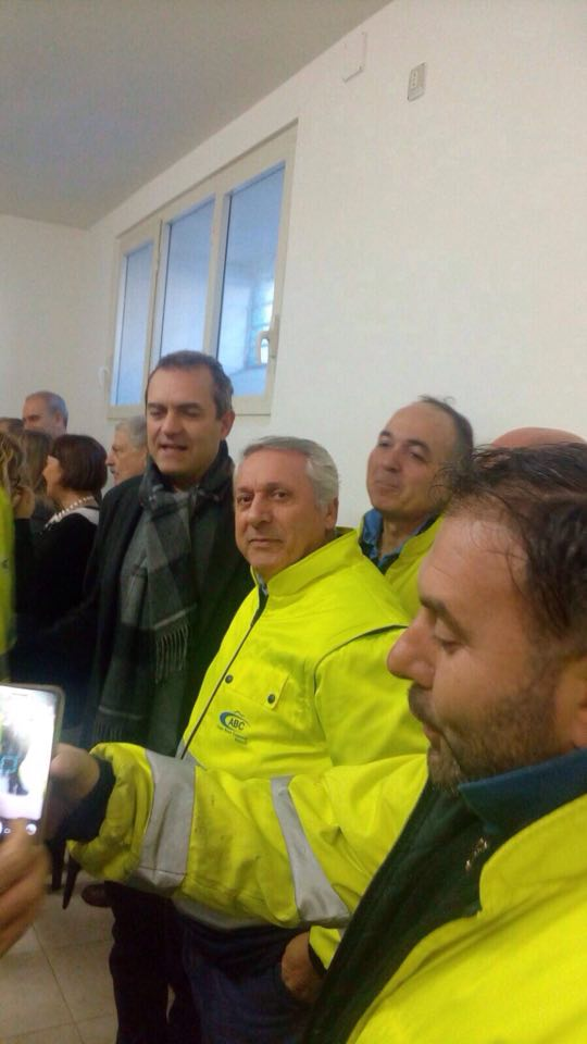 Vertenza Net Service, de Magistris conferma assorbimento dei 90 lavoratori in Abc