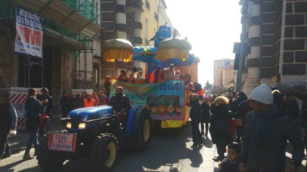 Aversa, il successo del Carnevale
