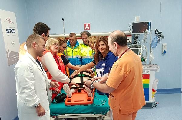 Sanità, al Cto simulato intervento chirurgico col 118