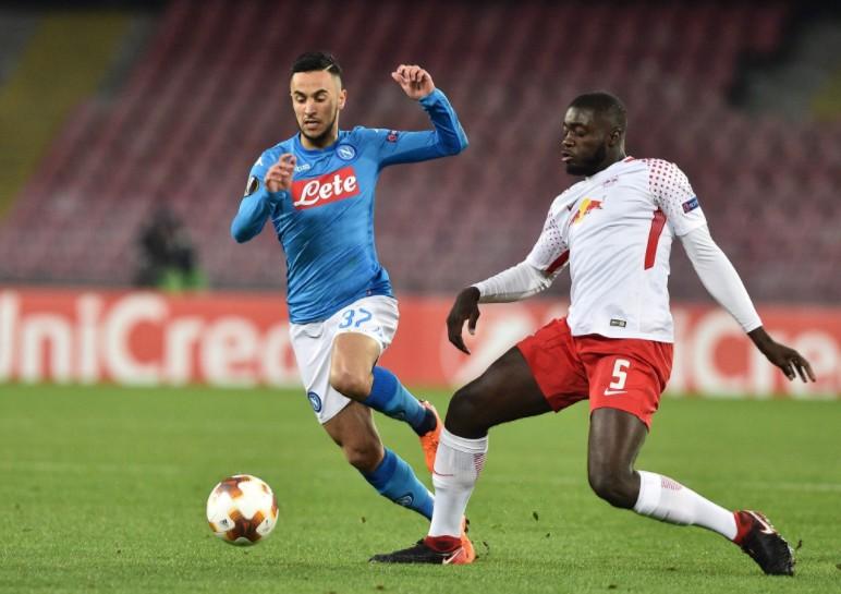 Europa League, il Napoli affonda col Lipsia