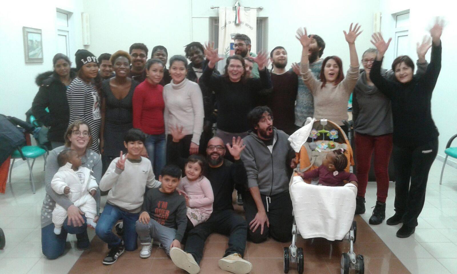 Petruro Irpino, accoglienza esemplare dei migranti
