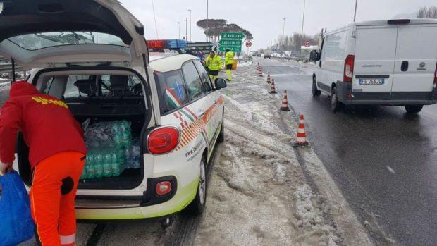 Campania, allerta Protezione civile: neve dal prossimo 3 Gennaio