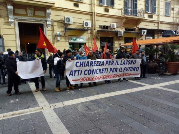 Salerno, incidente sul lavoro alle fonderie Pisani: grave un operaio