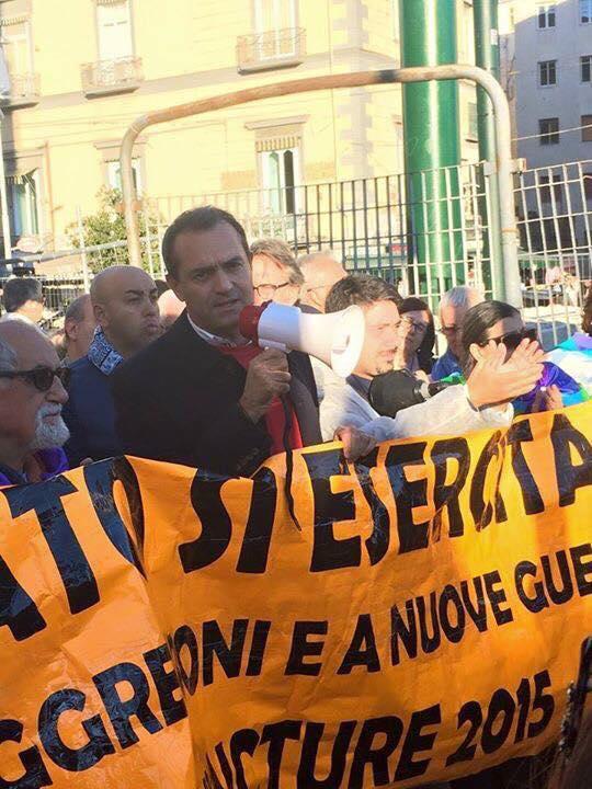 """Luigi de Magistris: """"Unità popolare contro il debito ingiusto e l'usura di Stato"""""""