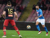 Albiol piega il Genoa, Napoli a -2 dalla vetta