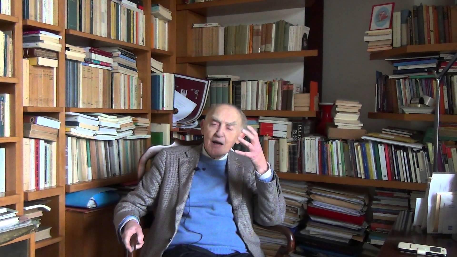 Buon compleanno professore Aldo Masullo, cittadino onorario di Napoli