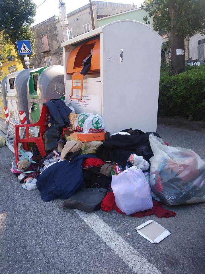 Stop termovalorizzatore di Acerra, week end a Napoli con la spazzatura