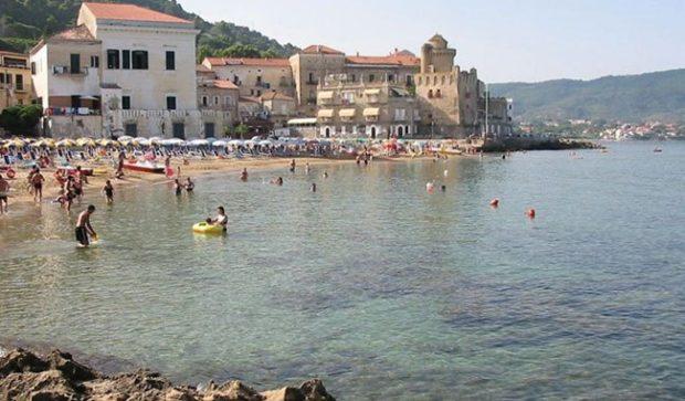La spiaggia di Santa Maria di Castellabate a misura di bambino