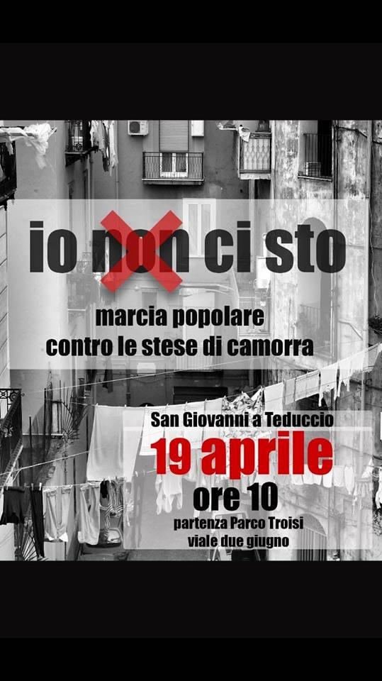 Napoli Est, la marcia popolare contro le stese della camorra