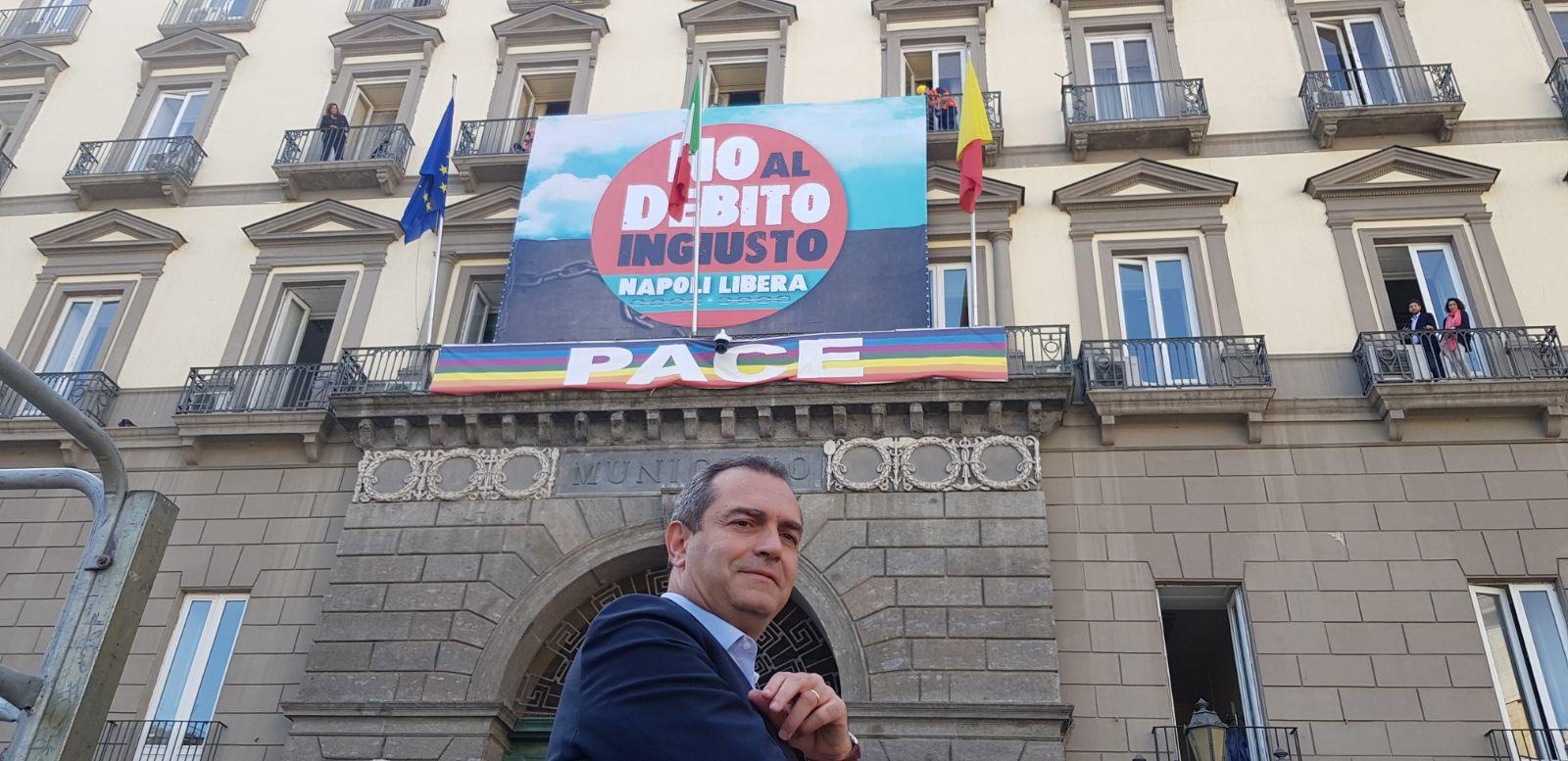 """Manovra, De Magistris: """"Pronto a sostenere il governo per rompere con l'austerità"""""""