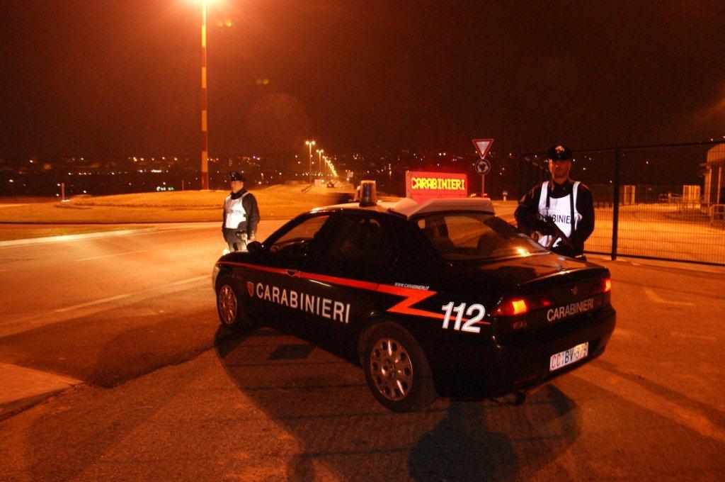 Benevento, controlli territoriali dei carabinieri: arresti, denunce, fogli di via