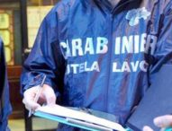 Napoli, blitz dei carabinieri in opificio: 9 lavoratori in nero su 12