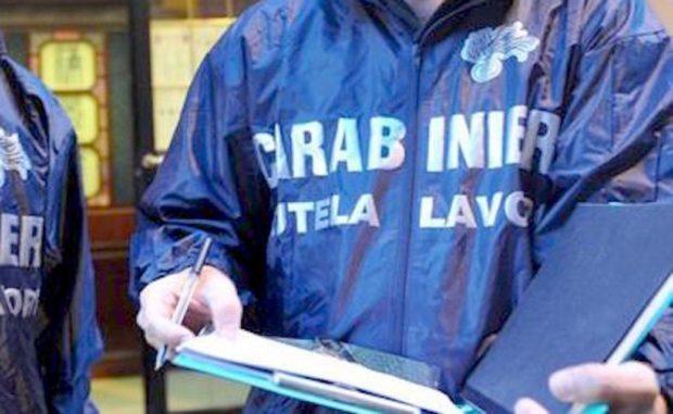 Aquilonia, Avellino: i carabinieri nei cantieri per tutelare i lavoratori, denunce e sanzioni