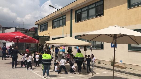 Il Futuro nel cuore, 250 scolari visitati a Caivano