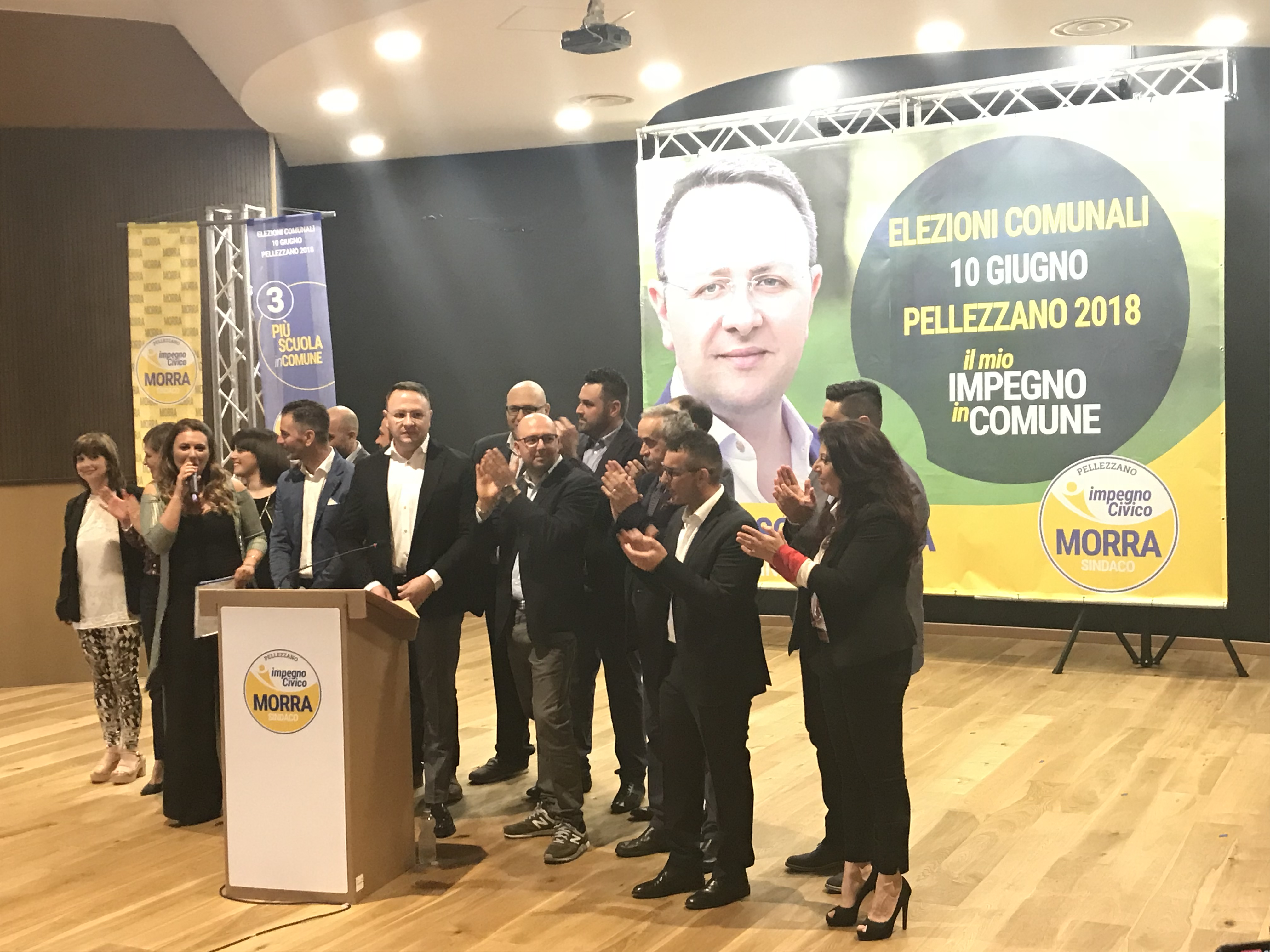 """Pellezzano, Salerno: ecco i candidati della lista 'Impegno Civico"""""""