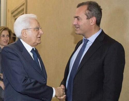"""""""Debito ingiusto"""", de Magistris vede Mattarella: """"Preoccupa l'assenza di un governo"""""""