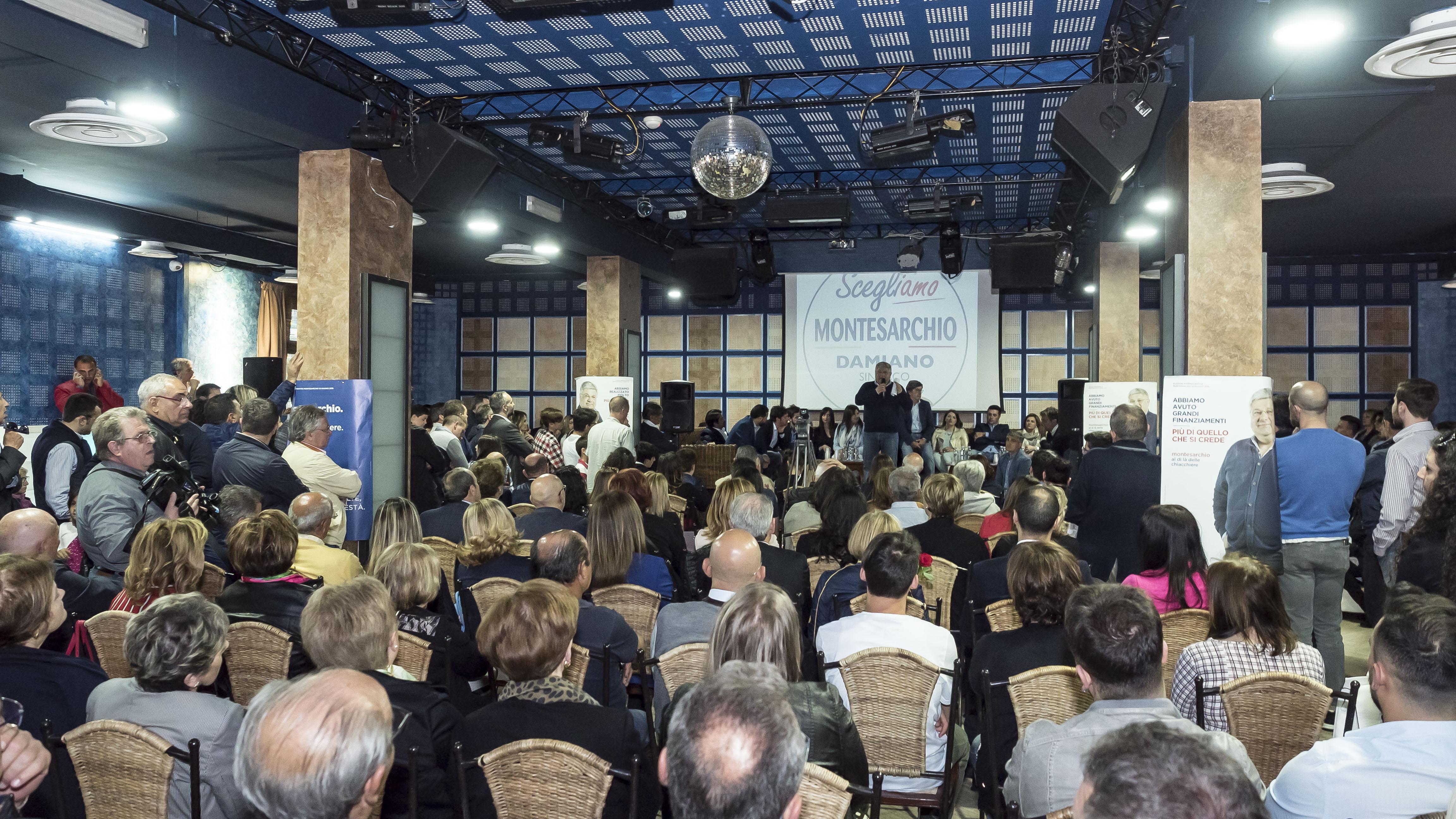 Montesarchio, Franco Damiano apre la campagna elettorale