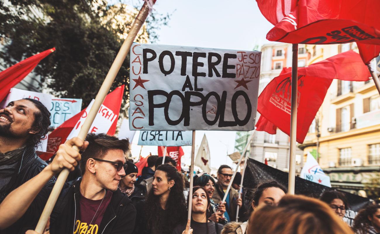 Verifica sull'alleanza tra De Magistris e Potere al Popolo