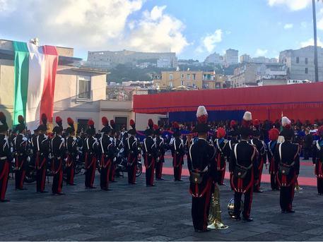 Napoli, la Festa dei Carabinieri
