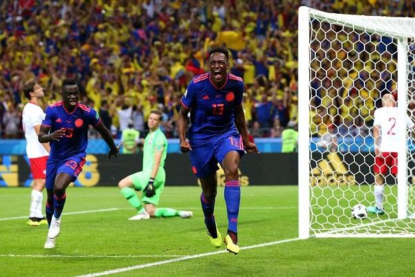 Mondiali, la Colombia elimina la Polonia di Zielinski e Milik