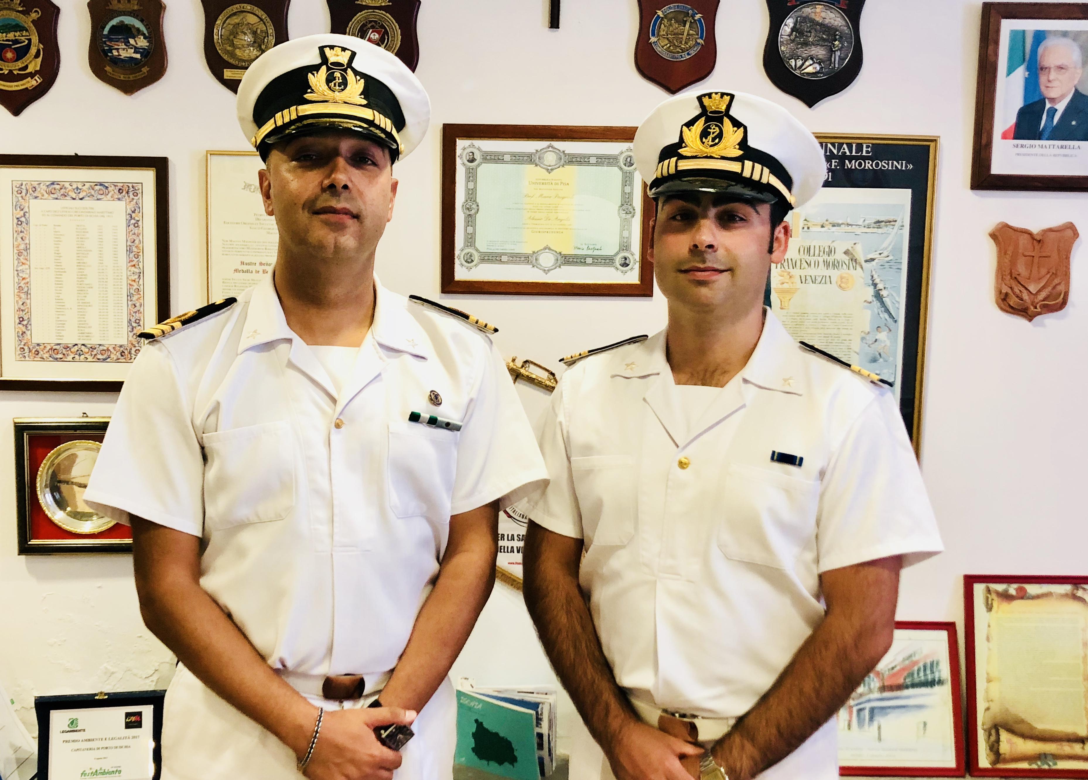 Ischia, cambio alla direzione della Guardia Costiera
