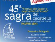 Paupisi, Benevento: Il Festival dei Sapori, la Sagra del Cecatiello