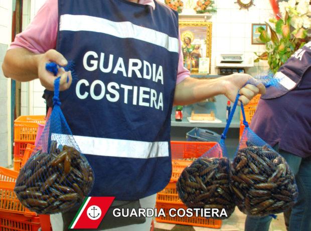 Campania: la pesca era abusiva, sequestrata una tonnellata di prodotti ittici