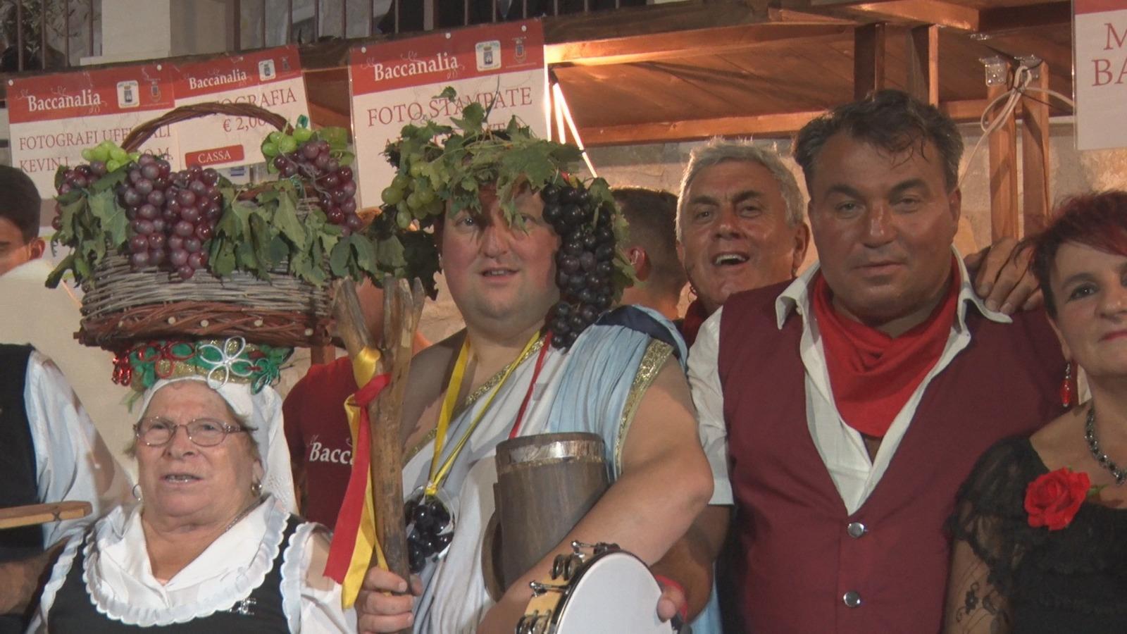 San Gregorio Magno: Un successo per la tradizionale manifestazione Baccanali