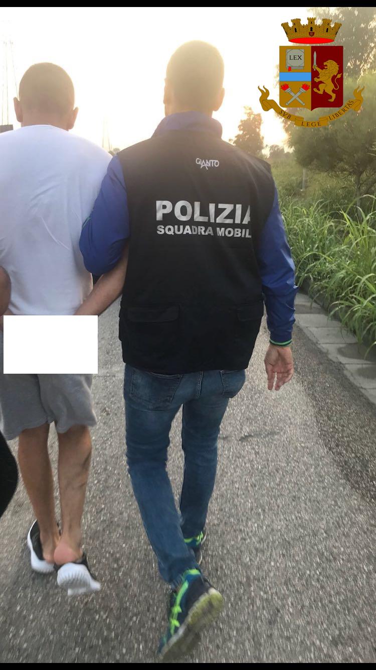 Caserta, operazione Squadra Mobile: arrestati quattro rapinatori