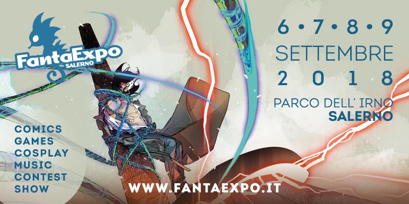 Al Comune di Salerno la presentazione di Fantaexpo 2018
