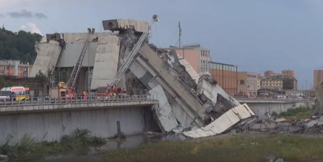 Ponte crollato a Genova, sale il bilancio dei morti: 5 sono napoletani