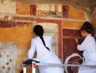 Pompei, ecco i nuovi restauri a Villa Arianna