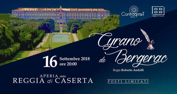 Caserta: Alla Reggia arriva Cyrano de Bergerac