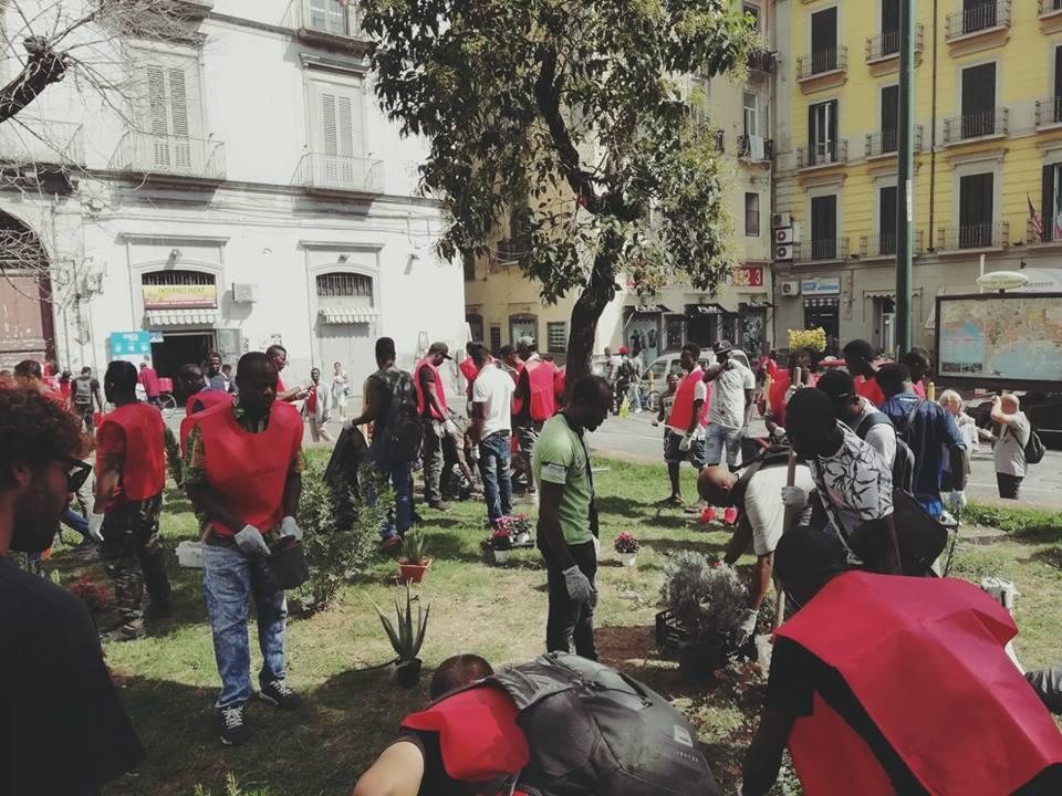 Napoli: residenti e migranti uniti per la riqualificazione del quartiere Vasto