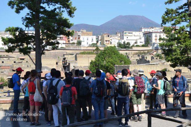 Ercolano: congresso di vulcanologi nel parco archeologico