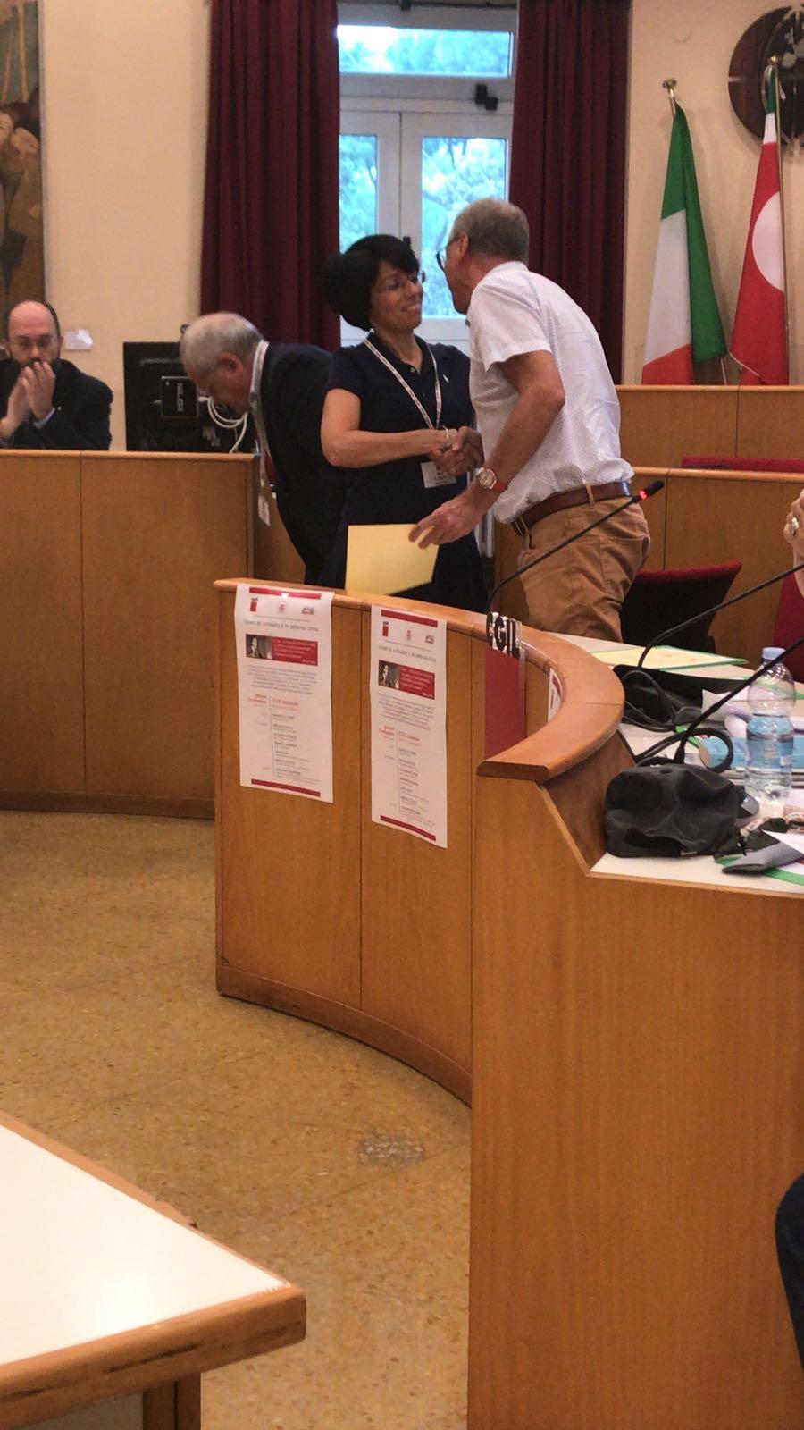 """Benevento: Premio nazionale """"Pio La Torre"""" a Rosita Galdiero"""