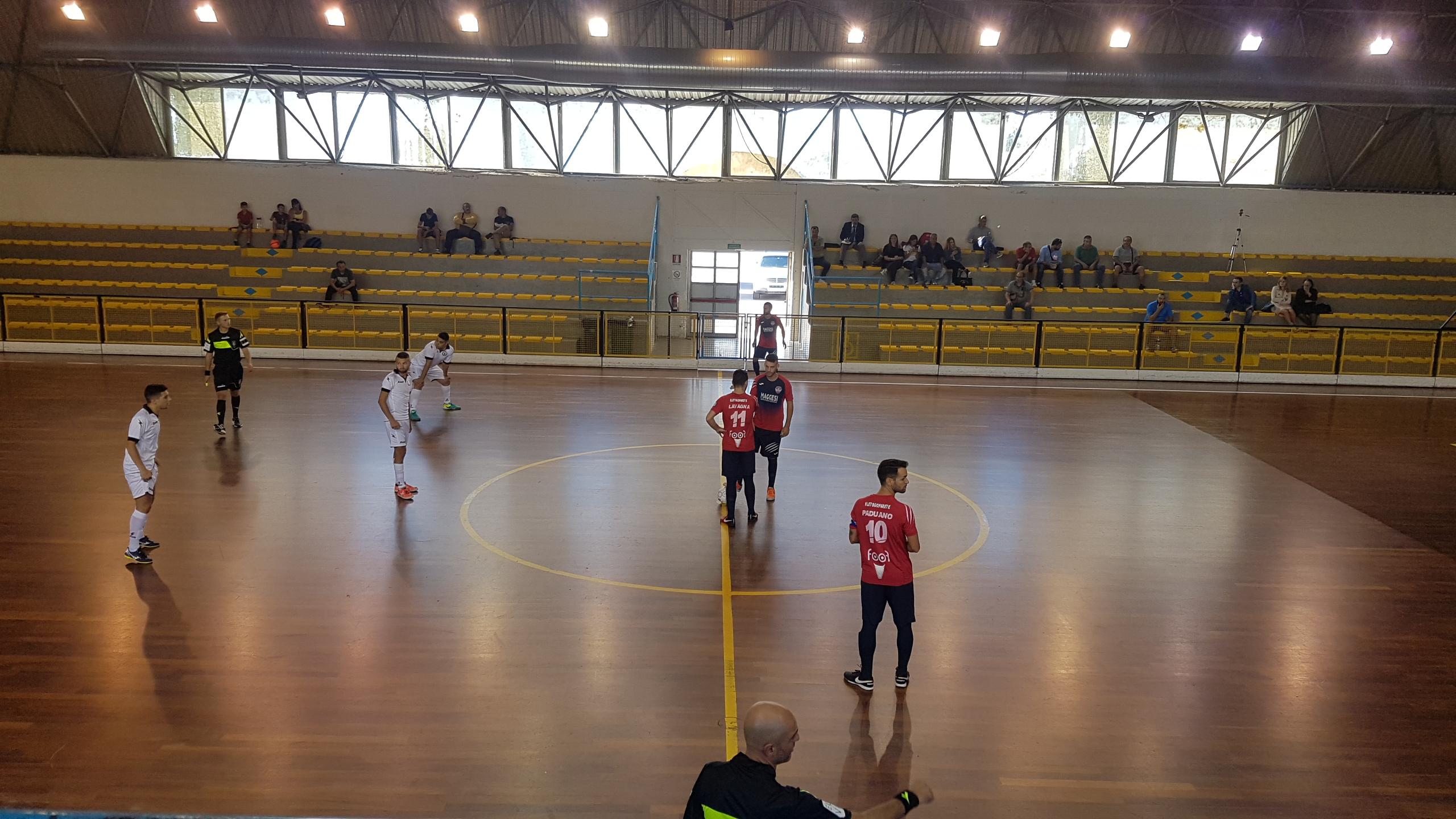 Calcio a 5, l'Alma incassa una sconfitta per 1-4