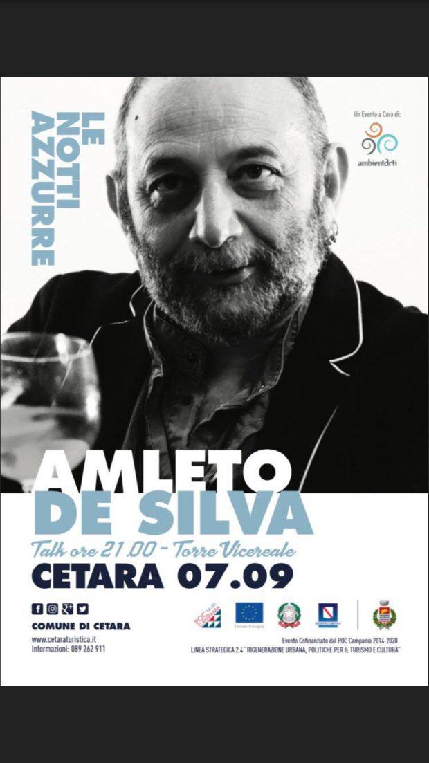 """Cetara: """"Le notti azzurre"""" in un dialogo con Amleto De Silva"""