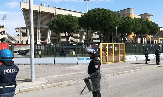 Salerno blindata per la gara contro il Verona