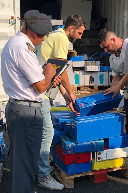 Salerno: sequestrate 60 tonnellate di rifiuti speciali