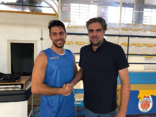 Salerno: La Hippo Basket conferma Gennaro Infante ed Antonio Manxi