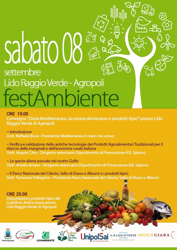 Agropoli: oggi la seconda giornata di FestAmbiente