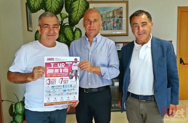 """Salerno: Giuseppe Iacovelli porta in città il suo """"Dono per la vita"""""""