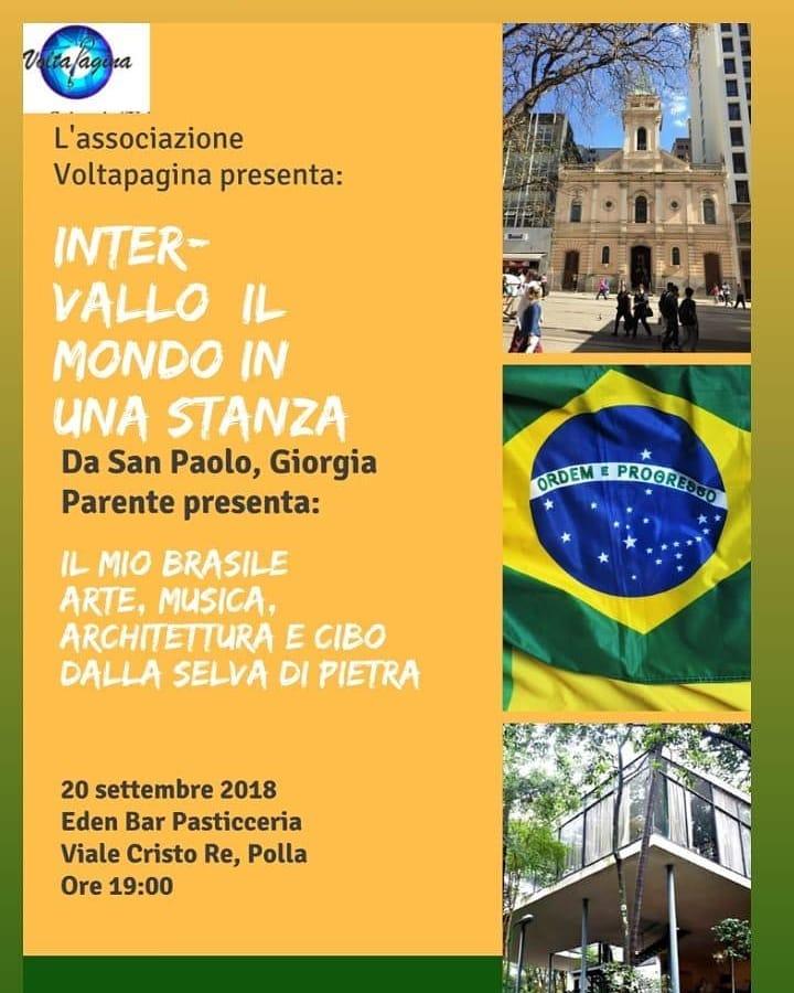 Polla: Giorgia Parente racconta il suo Brasile