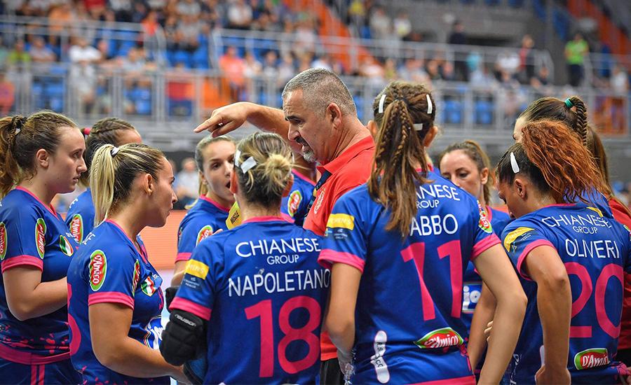 Salerno: la Jomi pronta per l'esordio in campionato