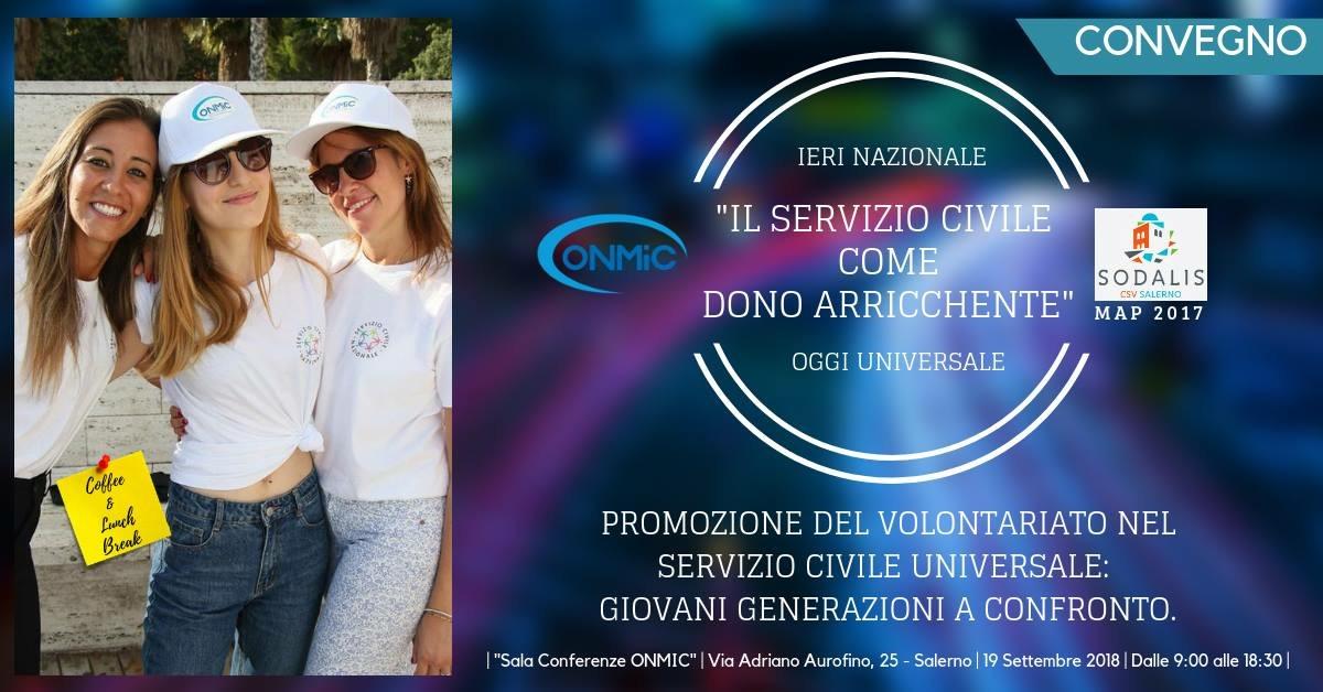 Salerno: l'Onmic promuove la cultura del volontariato