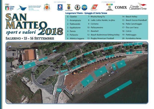 """Salerno: il Lungomare ospita la manifestazione """"Sport e Valori"""""""
